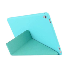 ocube 50pcs/lot Luxury PU Leather Soft Deformation TPU Silicon Coque Flip Auto Sleep Cover Case For Apple iPad Pro 9.7 Tablet