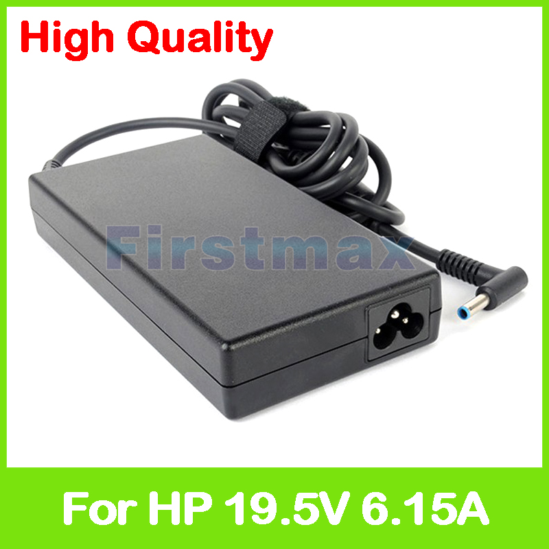 Slim 19.5V 6.15A laptop AC power adapter charger for HP Omen 15T-5100 Pro 15 PA-1121-62HC 710415-001 732811-001 ac power supply adapter 693709 001 801637 001 849651 001 for hp omen 15 5000 15 5100 15 5200 15t 5100 laptop charger 19 5v 6 15a