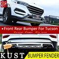 КУСТ Инженерный Пластик Передней Задней Части Кузова Fender Бампер Для Hyundai Tucson Для 2015 Кузова Бампера Для Tucson 2016 2017
