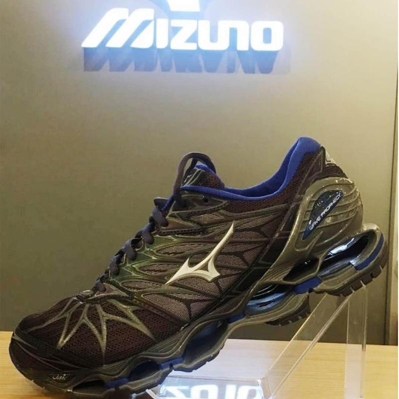 Originale MIZUNO WAVE Profezia 7 professionale Degli Uomini Scarpe Outdoor Aria Ammortizzazione Sport scarpe da tennis Degli Uomini di Sollevamento Pesi Formato dei Pattini 40-45