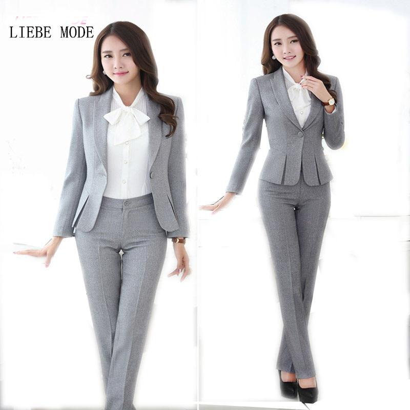 Pantalones de mujer de talla grande trajes de trabajo