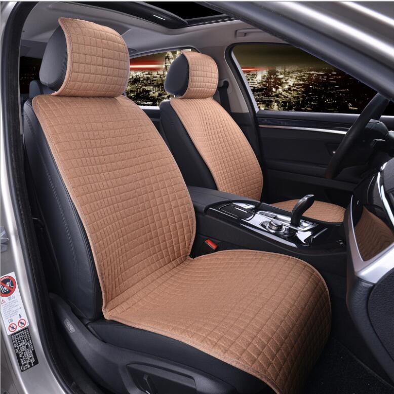 5 seat set Breathable Mesh car seat covers pad fit for most cars /summer cool seats cush ...
