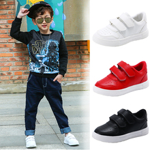 Summer childrens white sports shoes boys breathable net primary school casual girls