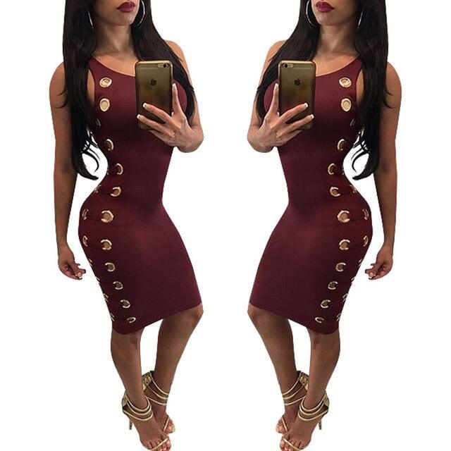 Sexy Robe Bandage Grande Maïs Court Dress Pas Cher Vêtements Chine Mode  Halter Vintage Moulante Dress