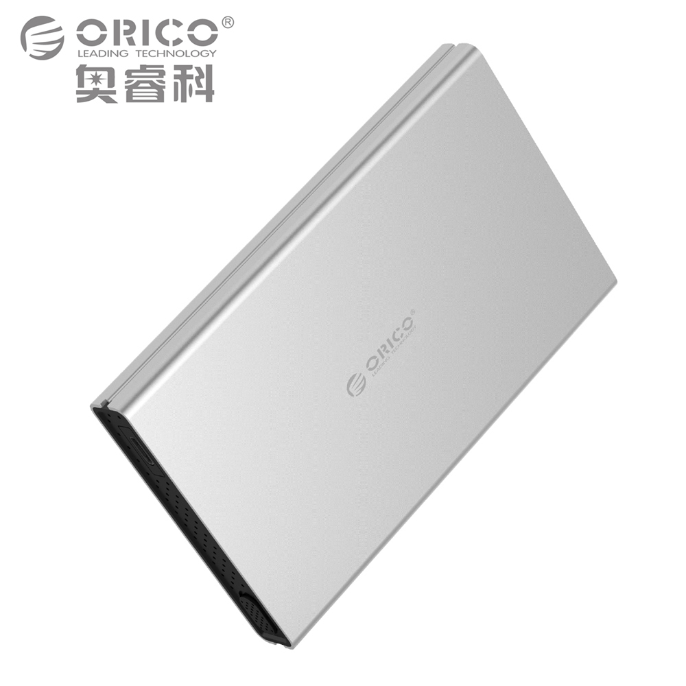 ORICO HDD Enclosure USB3 0 SATA3 0 Tool Free Aluminum HDD Case Support UASP for 2