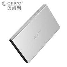 ORICO HDD корпусы USB3.0 SATA3.0 инструментов Алюминий hdd случае Поддержка UASP для 2.5 дюймов SATA HDD/SSD Щепка Color-2528U3