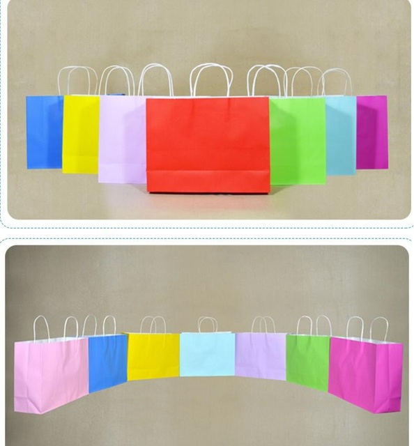 Aliexpress.com : Buy Yan 32.5*11*25cm large Paper shopping Bags ...