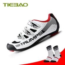 Tiebao Zapatillas Deportivas hombre Road cycling shoes Superstar Outdoor Sneakers chaussure vtt bicicleta carretera equitation цена