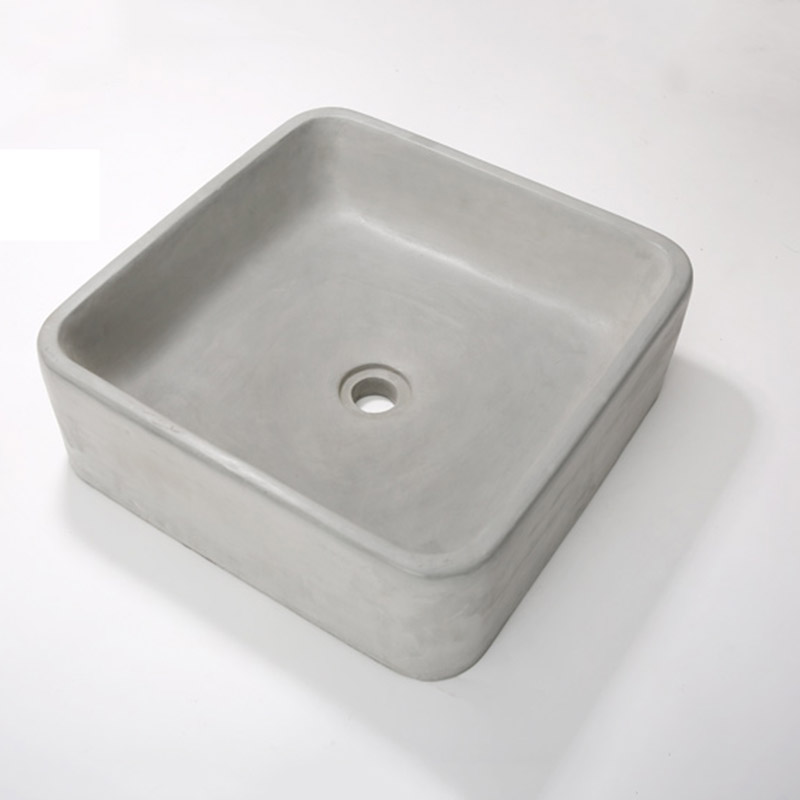 Square hand sink mold bathroom pot molds concrete sink craft moulds ...