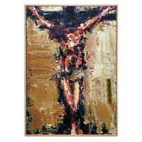 Handmade Abstract jesus Canvas Art Christ church mural painting Wall Pictures For dining room decorative oil Painting Home Decor