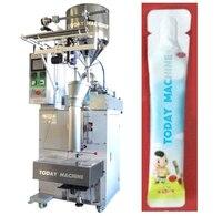 Автоматическая высокой Скорость жареные закуски Еда чипсы сумка упаковочная машина пыхтел Еда упаковочная машина для закуски