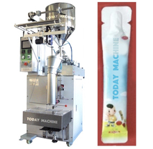 Automatic High Speed Fried Snack Food Potato Chips Bag Packaging Machine Puffed Food Packing Machine For Snack corn and rice puffed machine multifunctional small cereal bulking machine puffed food making machine zf