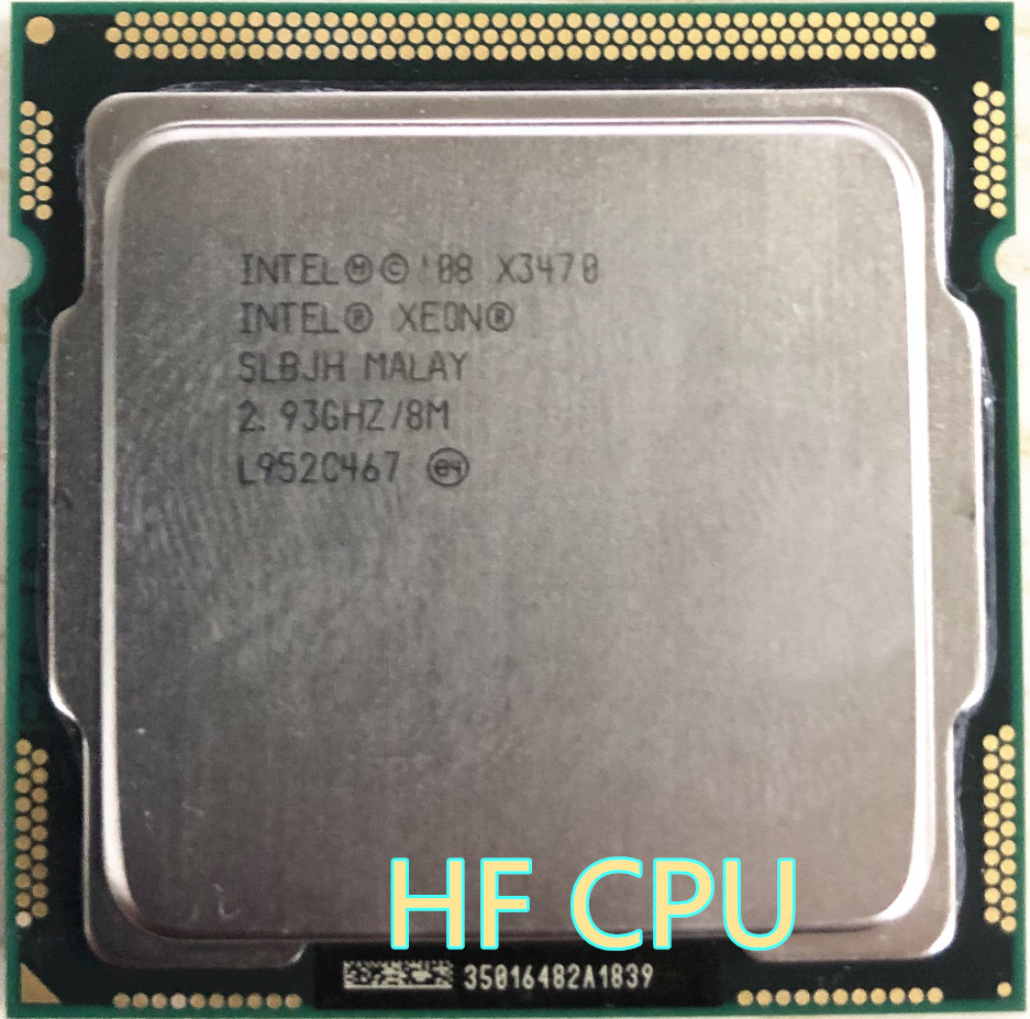 Cpu Sockel 1156 Lntel X3470 Quad Core 2 93ghz Lga 1156 95w 8m Cache Desktop Cpu Equal I7 870 Scrattered Pieces X3470 1156