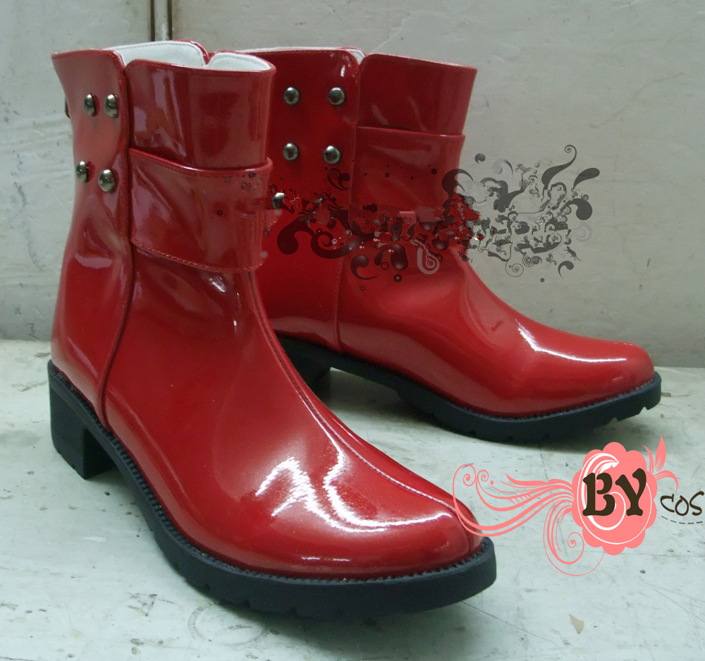 Anime Dramatical Murder DMMD  MIZUKI shoes Cosplay boots  custum made