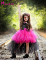 Rockstar Rainha Crianças Tutu Vestido Da Menina de Halloween Traje Cosplay Meninas Outfits Temido do Presente de Aniversário Meninas Vestidos DT-1636