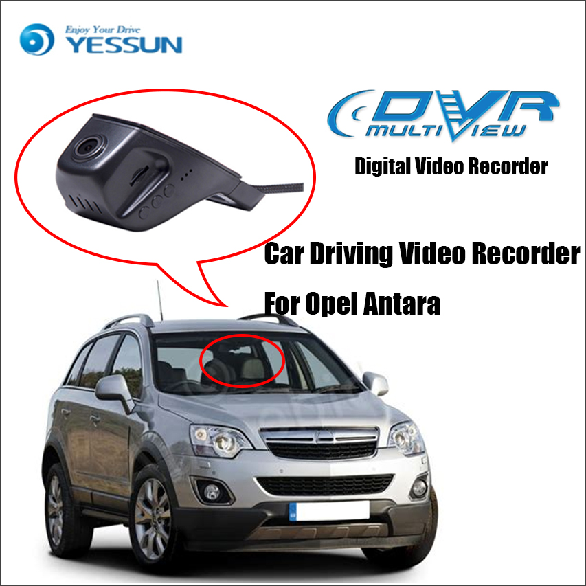 цена на YESSUN Not Rear Back Camera - Car DVR Driving Video Recorder For Opel Antara - Front Dash Camera Black Box HD 1080P