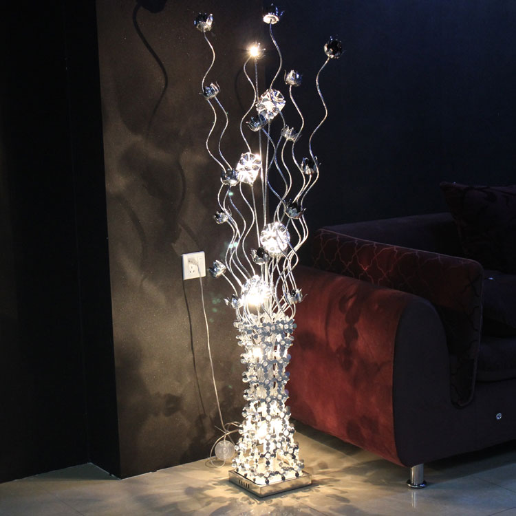 Lampe sur pied lampadaire moderne led handmade the preparation of