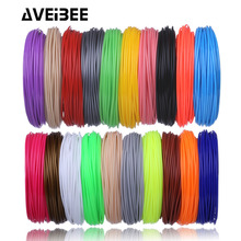 Aveibee 100 Meters 10 Colors 1 75MM PLA Filament Materials For 3D