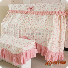 City Garden Fashion The Republic of Korea Piano cover Lace Full cover The piano suite High-grade Dust cover The bench cover