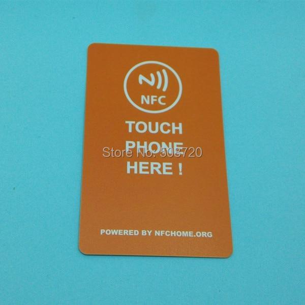 NFC Business Card 4K Create Your Own NFC Business Card Work With Samsung S4/nexus 5/Nexus4/10 All NFC Device