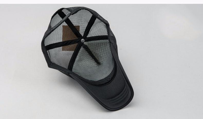 76dff01c666 2016 Fashion trucker hat for men black blank baseball caps women brim back mesh  hats for couple cotton drake sun hat casquette