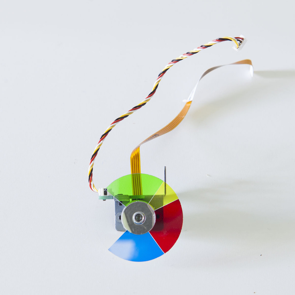 New High Quality Color Wheel For Viewsonic VS12476 VS13869 VS13868 DLP Projector Color Wheel 1PCNew High Quality Color Wheel For Viewsonic VS12476 VS13869 VS13868 DLP Projector Color Wheel 1PC