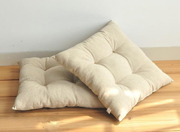 Japanese Huge Floor Cushions Square 40cm 45cm 50m Tatami Zaisu Legless  Chair Seating Zabuton Meditation Seat