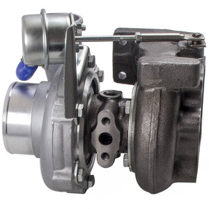 Image 4 - GT2871 T25 4 BOLT FOR NISSAN SR/CA S13/S14 240SX 5 BOLT FLANGE TURBO CHARGER gt28 Com A/R .60 turbine A/R .64 T25 T28 oil water