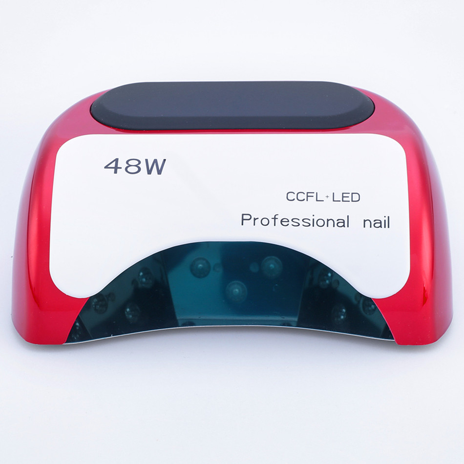 2017 Special Offer Professional 48 W Uv Lamp Nail Dryer For Gel Polish Curing Led Dryers With Lcd Art Automatic Sensor Tools