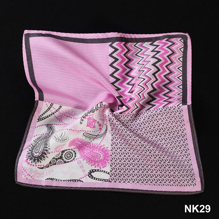 NK29 HN12K Pink Herringbone Paisley Dot (5)