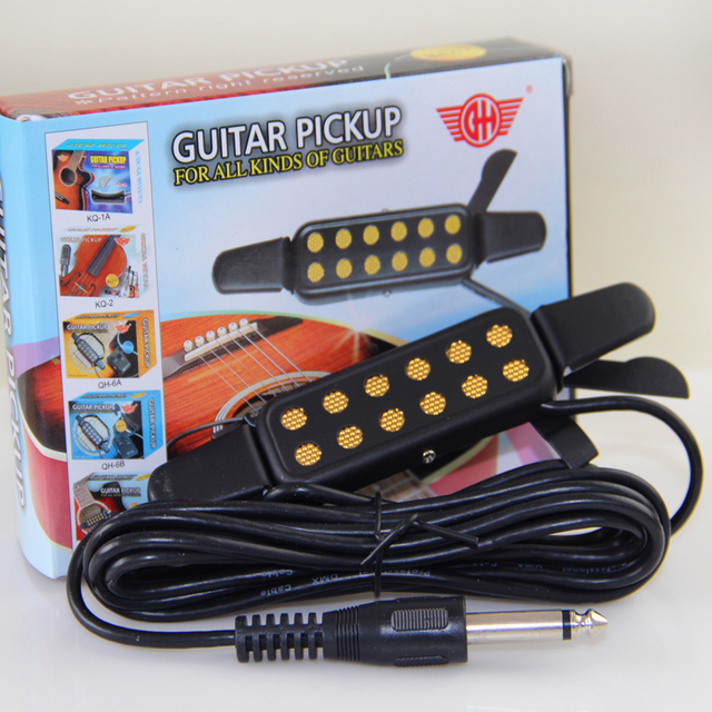 Gitarre Pickup, hotsale billige gitarre pickup KQ 3 für akustische ...