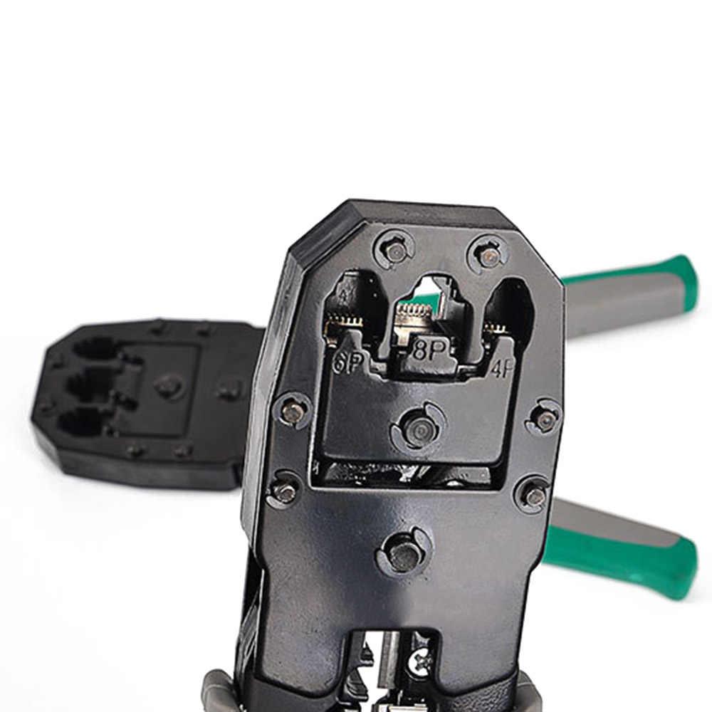 1PC ケーブル RJ45 RJ11 RJ12 CAT5 LAN ネットワークツールキットケーブルテスターワイヤーストリッパークリンパープライヤー最高品質