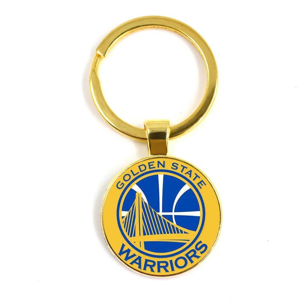 MẮT KÍNH NBA sở thích bạn bè thấy thời trang Kính pha lê chìa khóa 25 MM được làm thủ công, là một phổ biến trang sức Mặt Dây Chuyền.