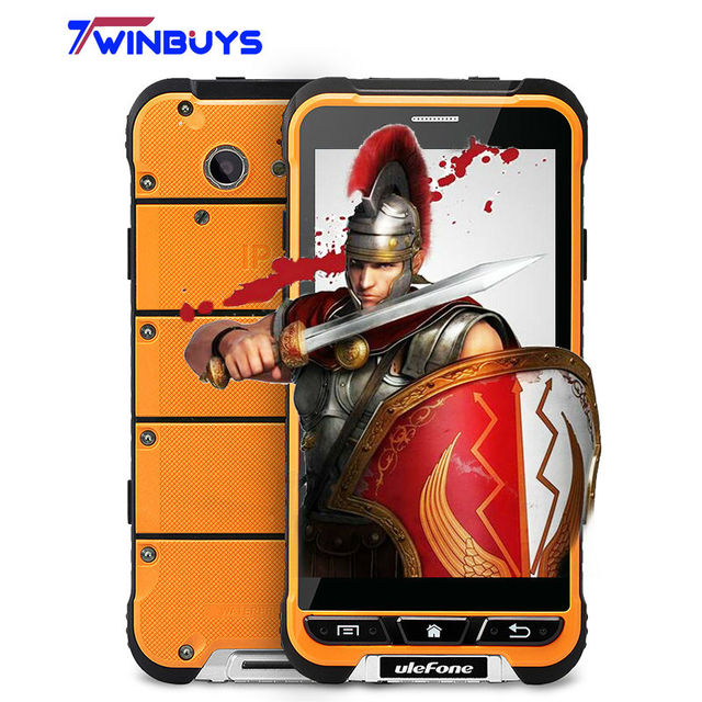 Global Network Ulefone Armor Mobile Phone Android 6.0 4G LTE MTK6753 Octa Core 3G+32G 13MP IP68 Waterproof Shockproof 3500mAh