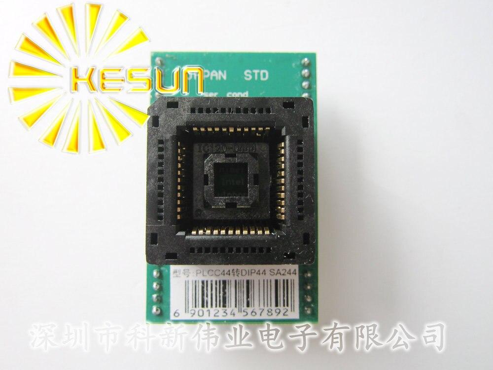 PLCC44 TURN DIP44 SA244  IC socket Programmer adapter SocketPLCC44 TURN DIP44 SA244  IC socket Programmer adapter Socket