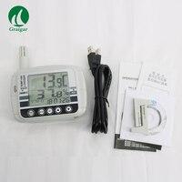 AZ8808 большой ЖК дисплей Дисплей Температура и влажности Регистраторы кнопки и PC программирование являются доступными