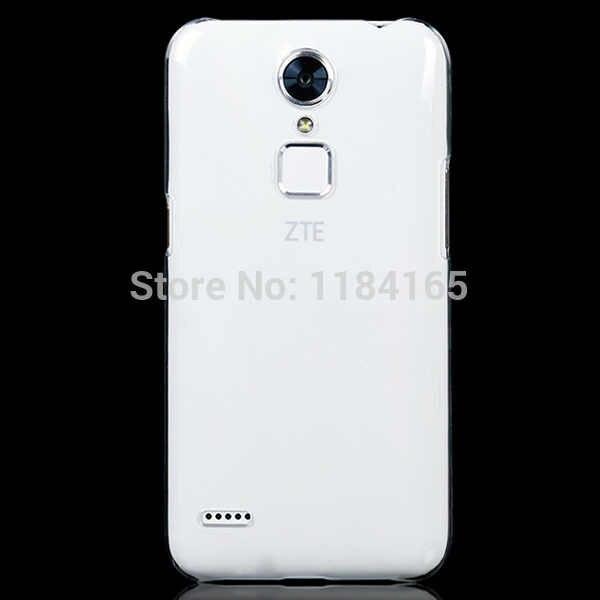 Jonsnow zteブレードa1スーパースリム透明超薄型プラスチックハード電話バック保護カバー
