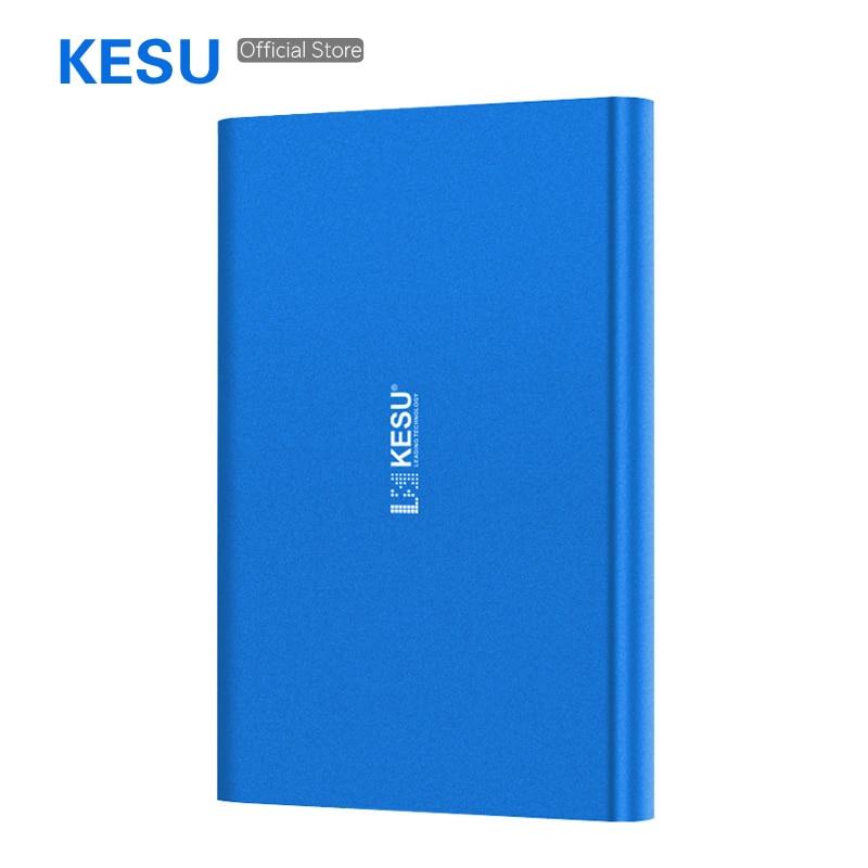 320GB Storage USB3.0 KESU E201 Portable External Storage Hard Drive 2.5 HDD Fast Speed Hard Disk for PC/Mac 5 Color