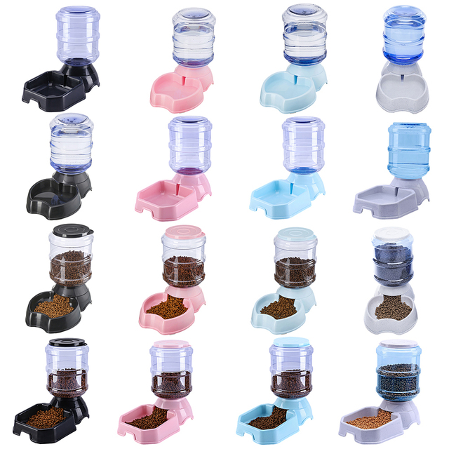 3.8L Automatic Pet Feeder Dog/Cat Drinking Bowl 3