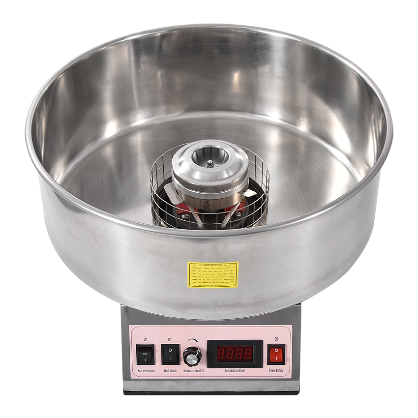 1 шт. хлопок машина для производства сахарной ваты коммерческих конфеты вышивка крестом нить чайник Электрический Хлопок машина нержавеющая сталь внутренняя контейнер