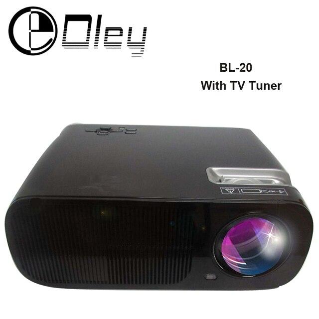 Дешевле 3000 люмен Android 4.4 Wi-Fi BL20 игровое Видео HDMI USB ТЕЛЕВИЗОР Full HD 1080 P Домашний Кинотеатр Мультимедиа LED LCD Проектор Proyector