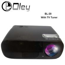 Más barato 3000 lúmenes Android 4.4 Wifi BL20 juego de Vídeo HDMI USB TV Full HD 1080 P de Cine En Casa Multimedia LED Proyector LCD Proyector