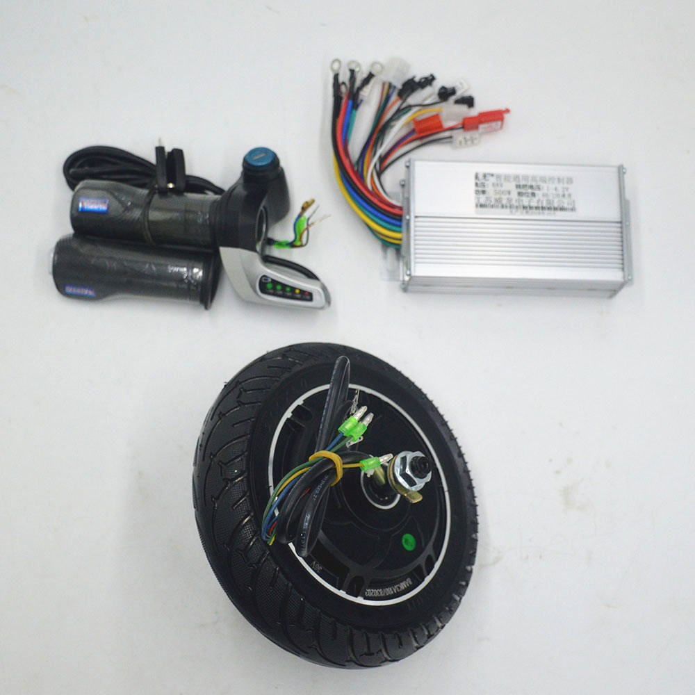 36V 48V 350W scooter motor with controller twist throttle kit for Electric Scooter/xiaomi scooter 8inch Wheel