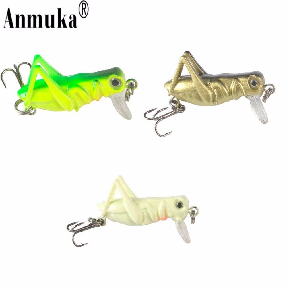 Aliexpress.com : Buy Anmuka 3pcs 40mm 3g Grasshopper