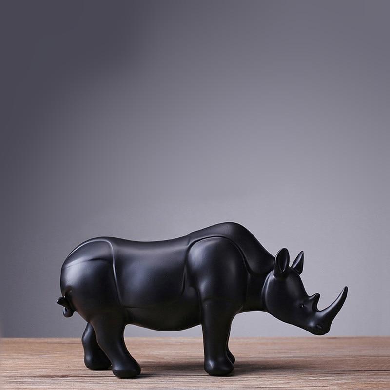 Statue, Accessories, Mrzoot, Resin, Rhinoceros, Gift
