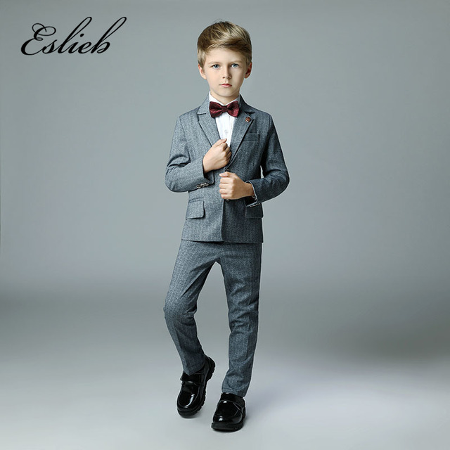 08caae6789a3 Custom made 4pcs Hot Sale boy's kids boy suit for weddings prom formal  Boy's Attire for wedding boy suits with tie Made in China