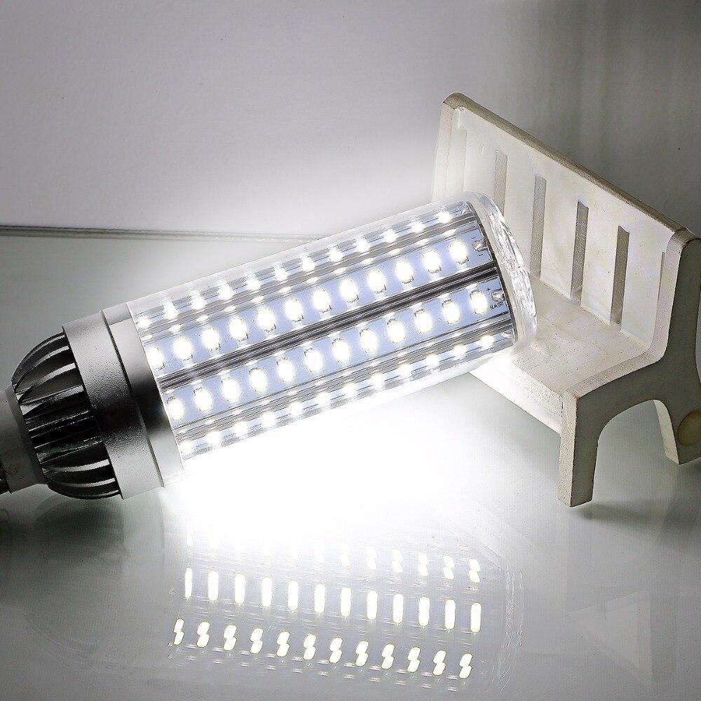 E27 High Power SMD5730 Led Corn Bulb Aluminium Fan Cooling Light E26 AC85-265V Corn Lamp High Lumen No Flicker for Home Lighting vbs real wattage 25w 35w 45w led lamp corn bulb 110v 220v e27 aluminum fan cooling 5730 smd led spot light corn light bulb
