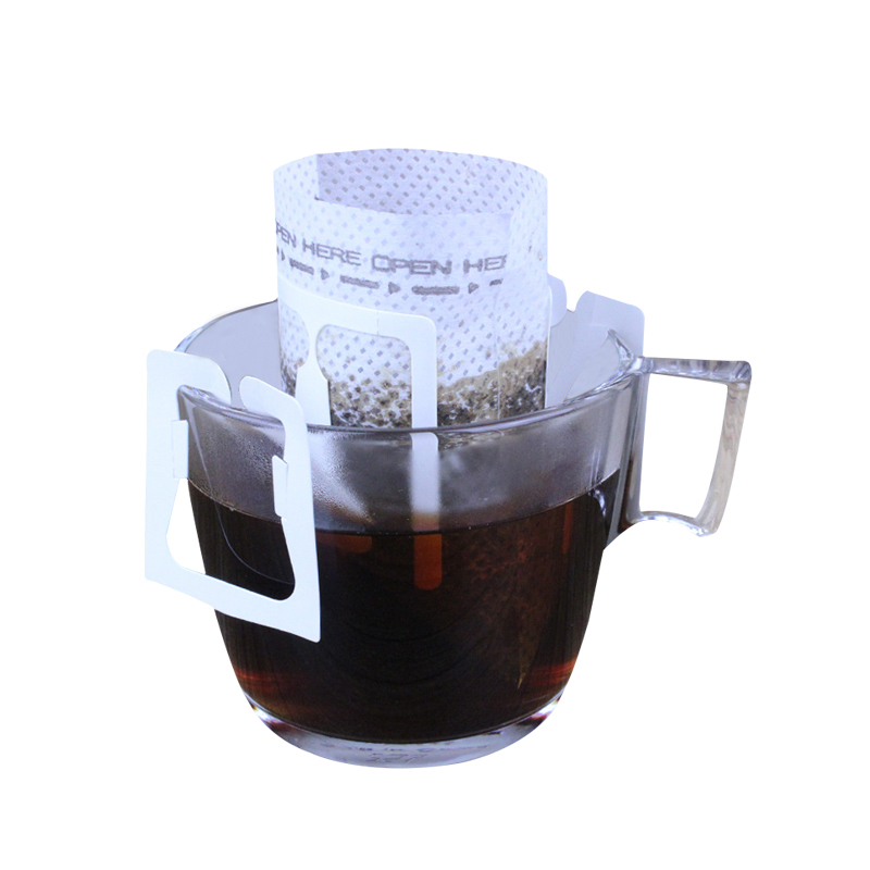 Coffee:  50 Pcs Coffee Filter Bag Portable Hanging Ear Style Coffeeware Drip Filters Paper Home Office Tea Infuser Kitchen Gadgets Tools - Martin's & Co