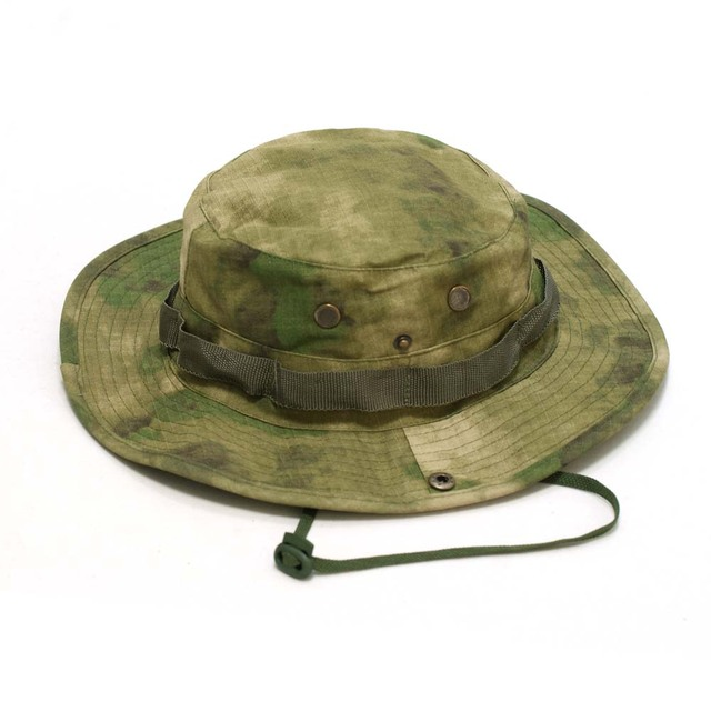 8c1223a5d45 Tactical Airsoft Sniper Camouflage Boonie Hats Nepalese Cap Militares Army  Mens American Military Accessories A-