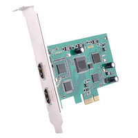 PCIE Video Capture Card HDMI 4K 30P Input HD Video Recorder HDMI Out for Windows Linux